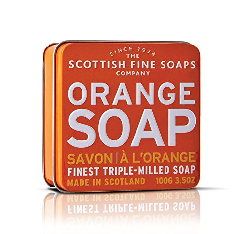 Scottish Fine Soaps Orange Soap 100g