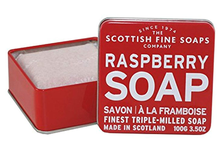 Scottish Fine Soaps Raspberry Soap 100g