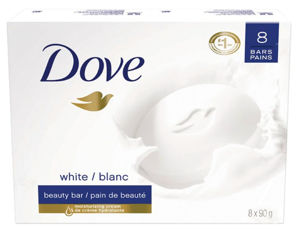 Dove 8-Pack Beauty Bars 8 x 90g