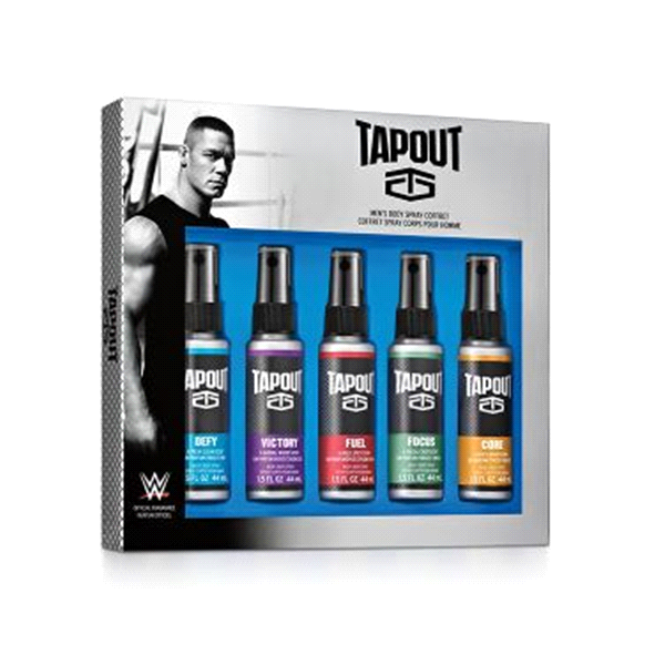 Tapout Men's Body Spray 5x44mL Set MEN