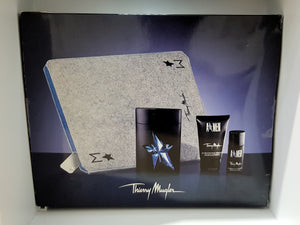 Thierry Mugler A*Men Mugler Magic Gift Set 3pc w/ Toiletry Bag 100ml EDT