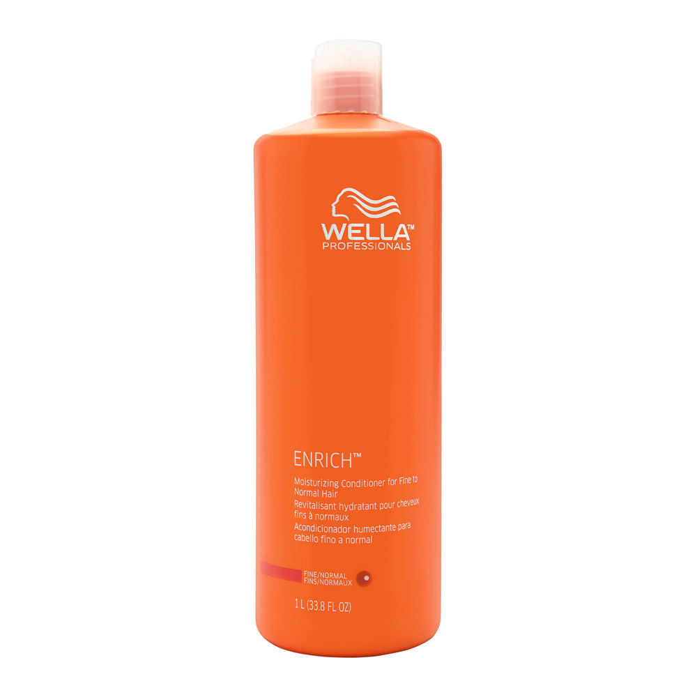 Wella Professionals Enrich Moisturizing Conditioner for Fine to Normal Hair 1L