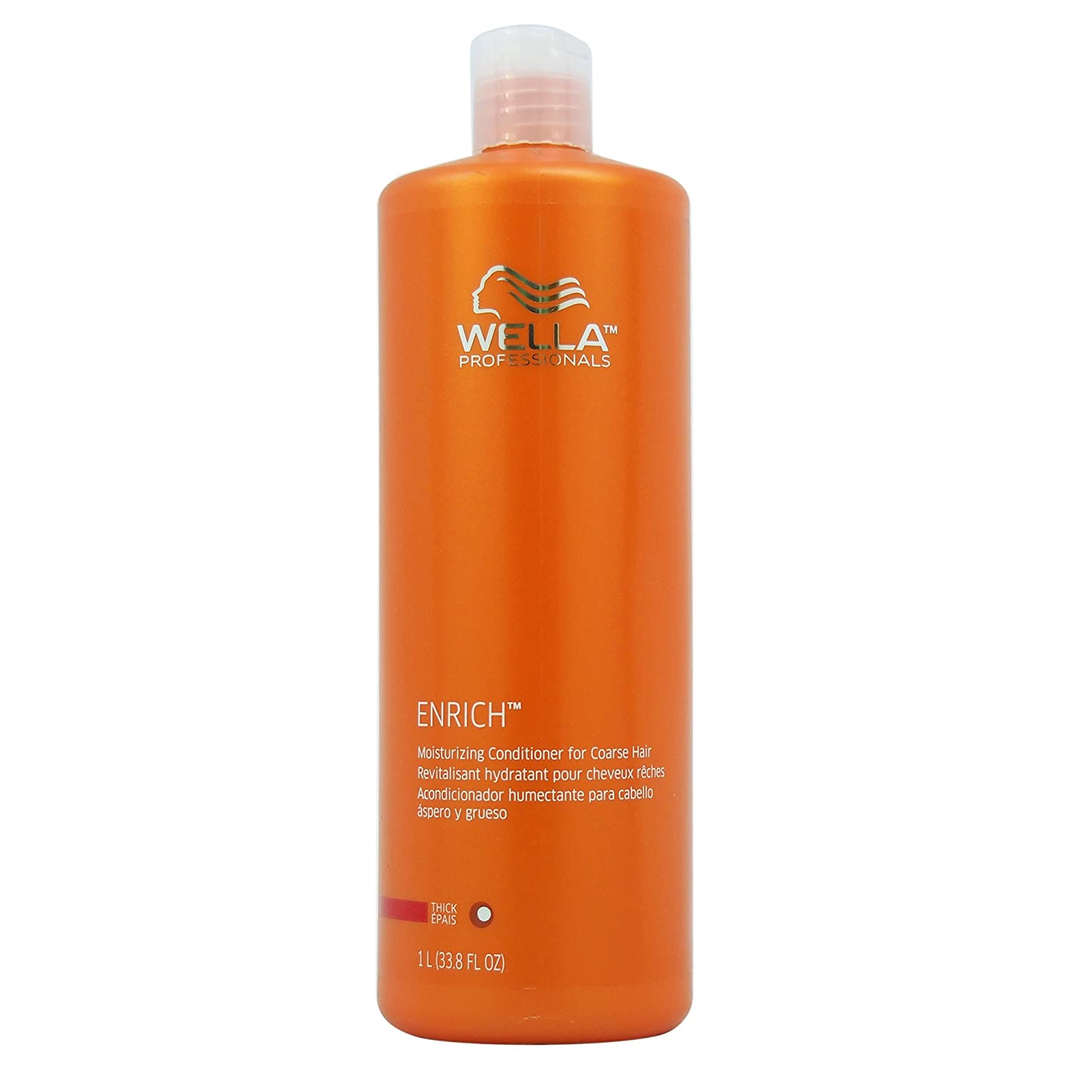 Wella Professionals Enrich Moisturizing Shampoo for Coarse Thick Hair 1L