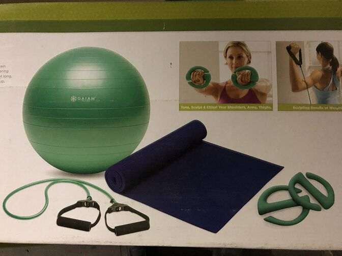 GAIAM Total Body Targeting Toning Kit (CURBSIDE PICKUP ONLY)
