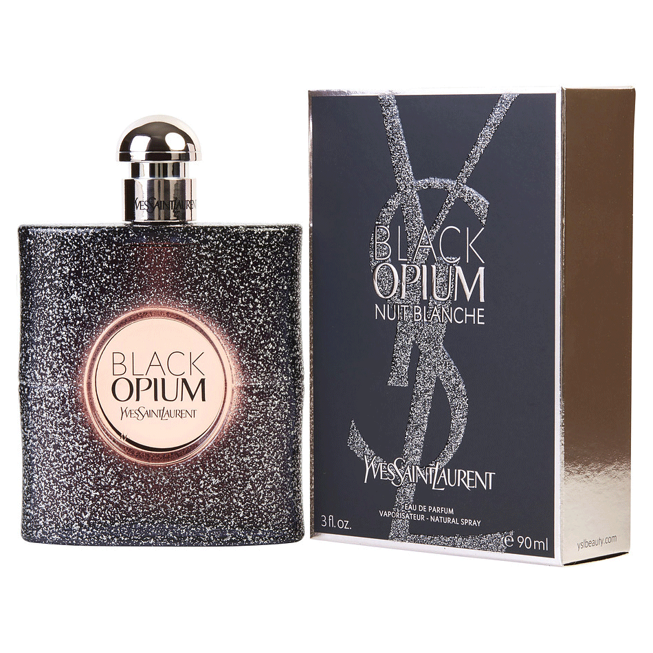 Yves Saint Laurent (YSL) Black Opium Nuit Blanche 90ml EDP WOMEN