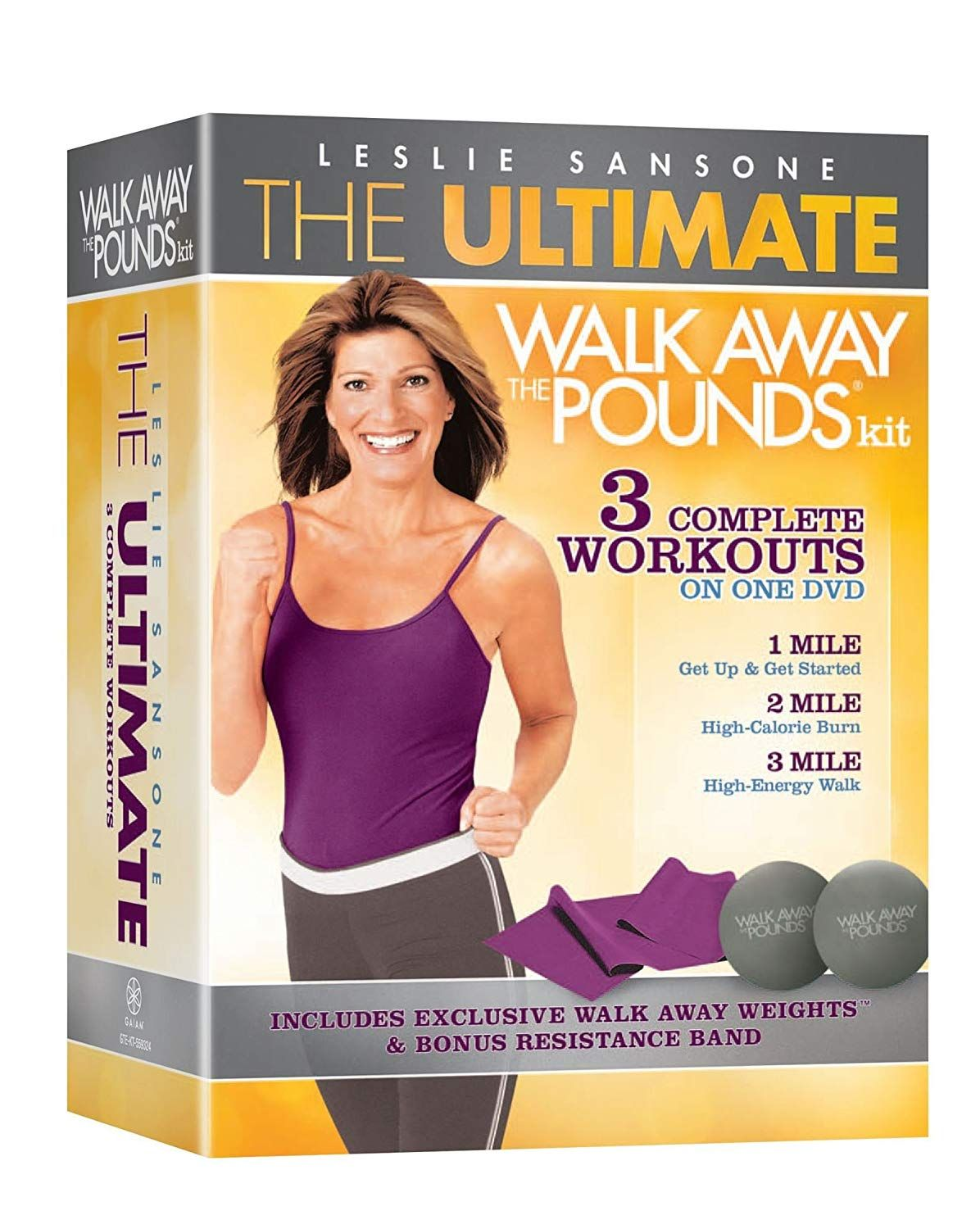 The Ultimate Leslie Sansone Walk Away The Pounds Kit