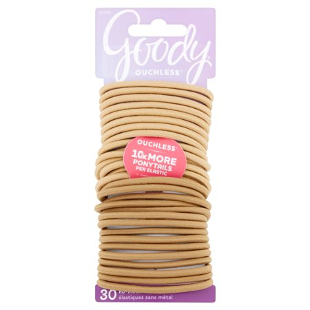 Goody Ouchless 30 + 3 pcs Hair Ties in Beach Blonde