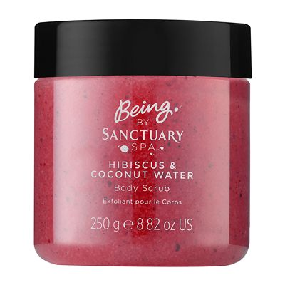 Being by Sanctuary Spa Hibiscus & Coconut Water Body Scrub 250ml
