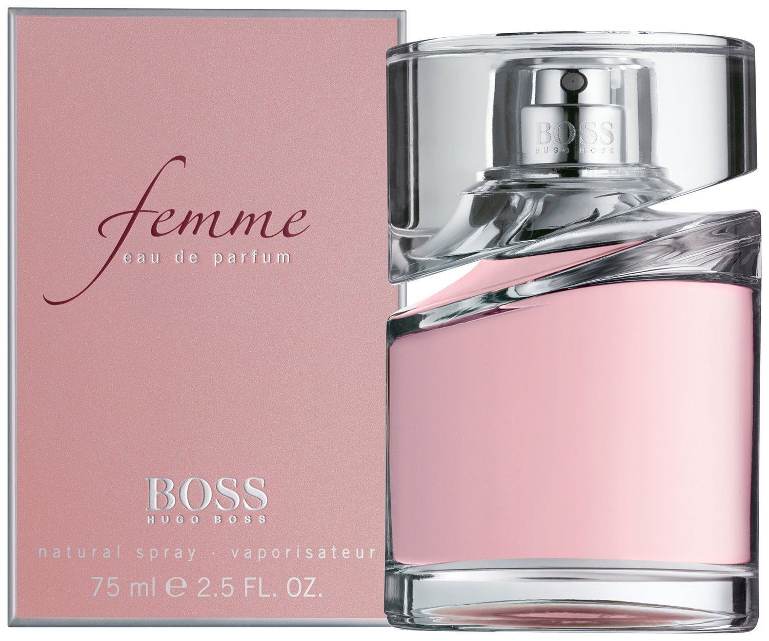 Hugo Boss Femme EDP 75mL PINK WOMEN