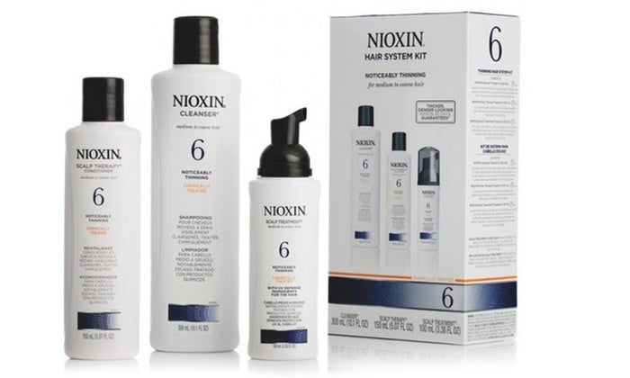 Nioxin System 6 Hair System 3pc Kit