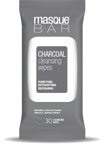 Masque B.A.R Charcoal Cleansing Wipes