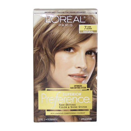 L'Oreal Paris Superior Preference Premium Dark Blonde 7