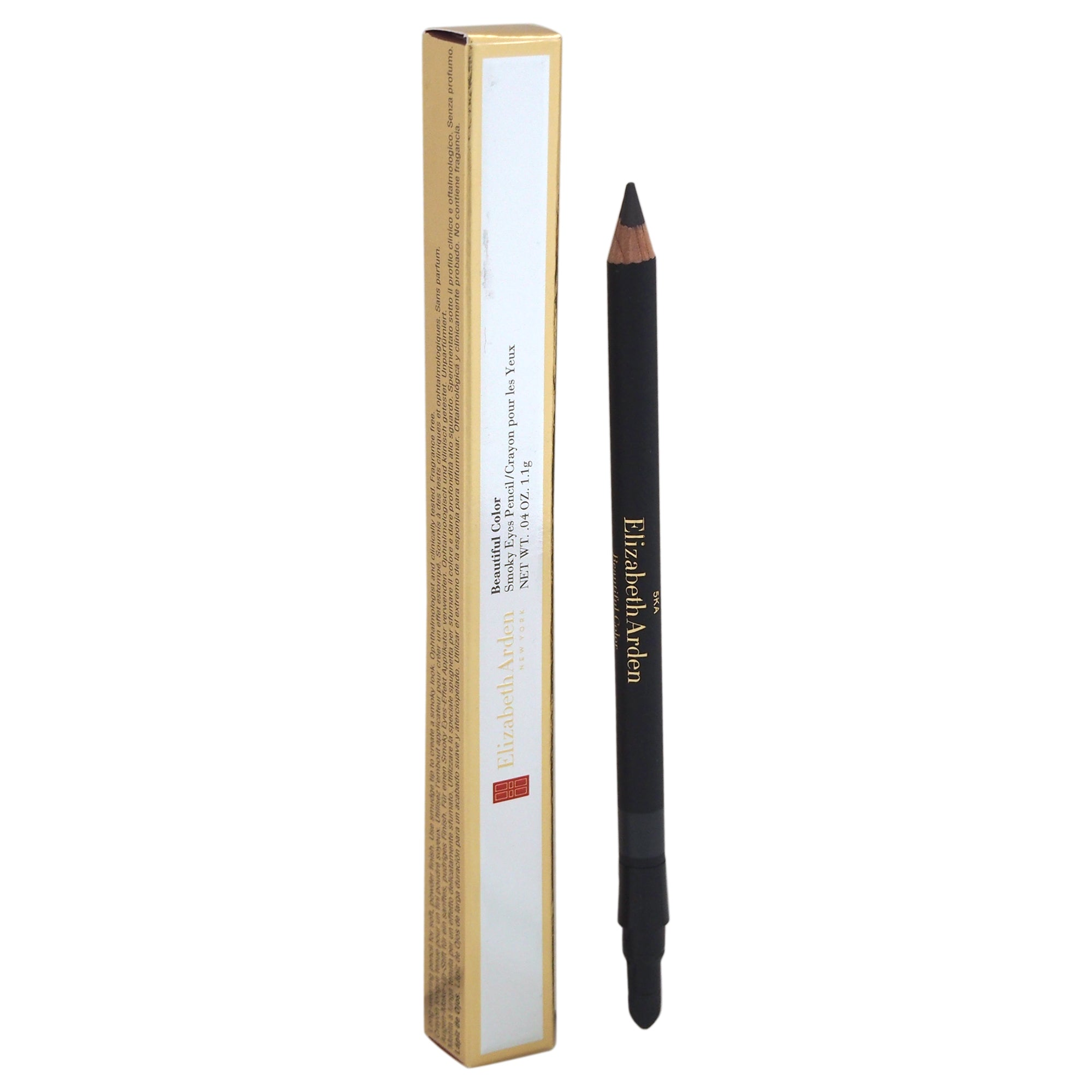 Elizabeth Arden Smoky Eyes Pencil in Gunmetal 02