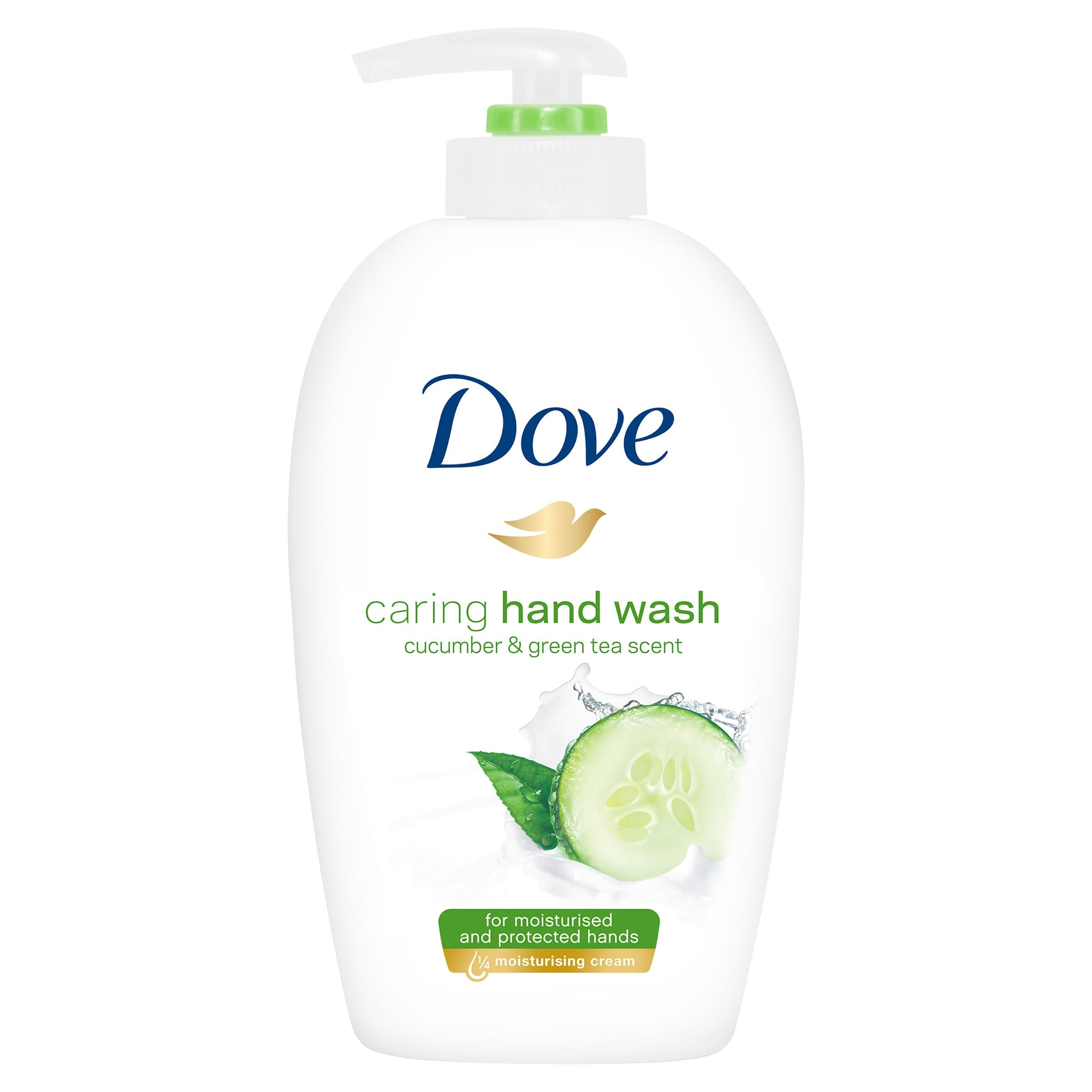 Dove Caring Hand Wash Cucumber and Green Tea 250ml