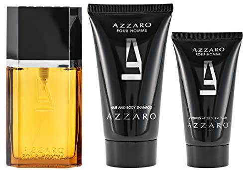 Azzaro Pour Homme 3pc Set 30ml EDT Men
