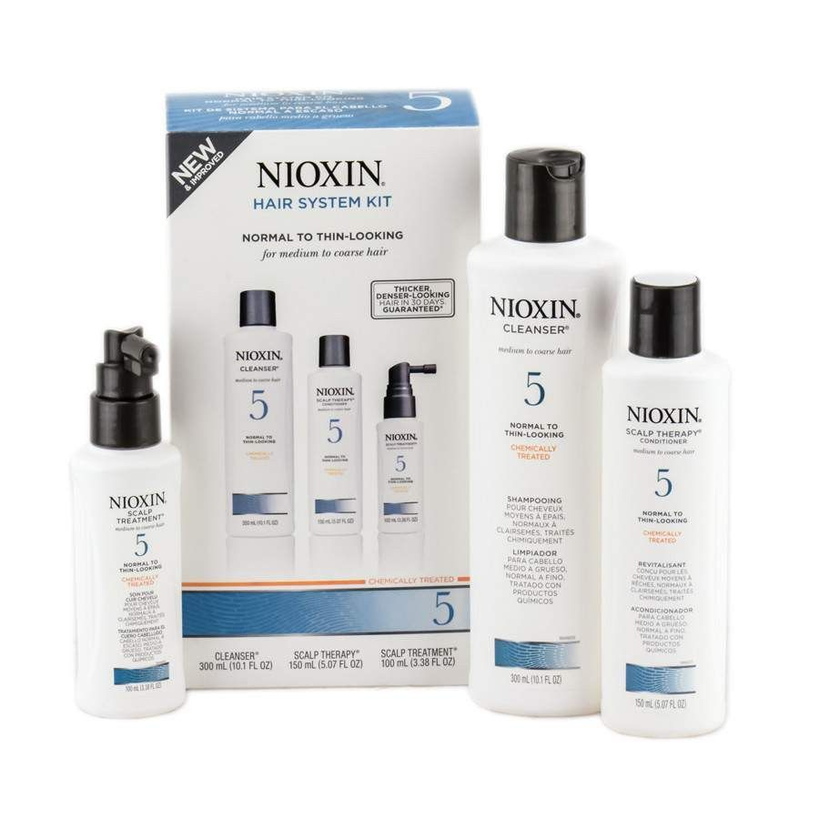 Nioxin System 5 Hair System 3pc Kit