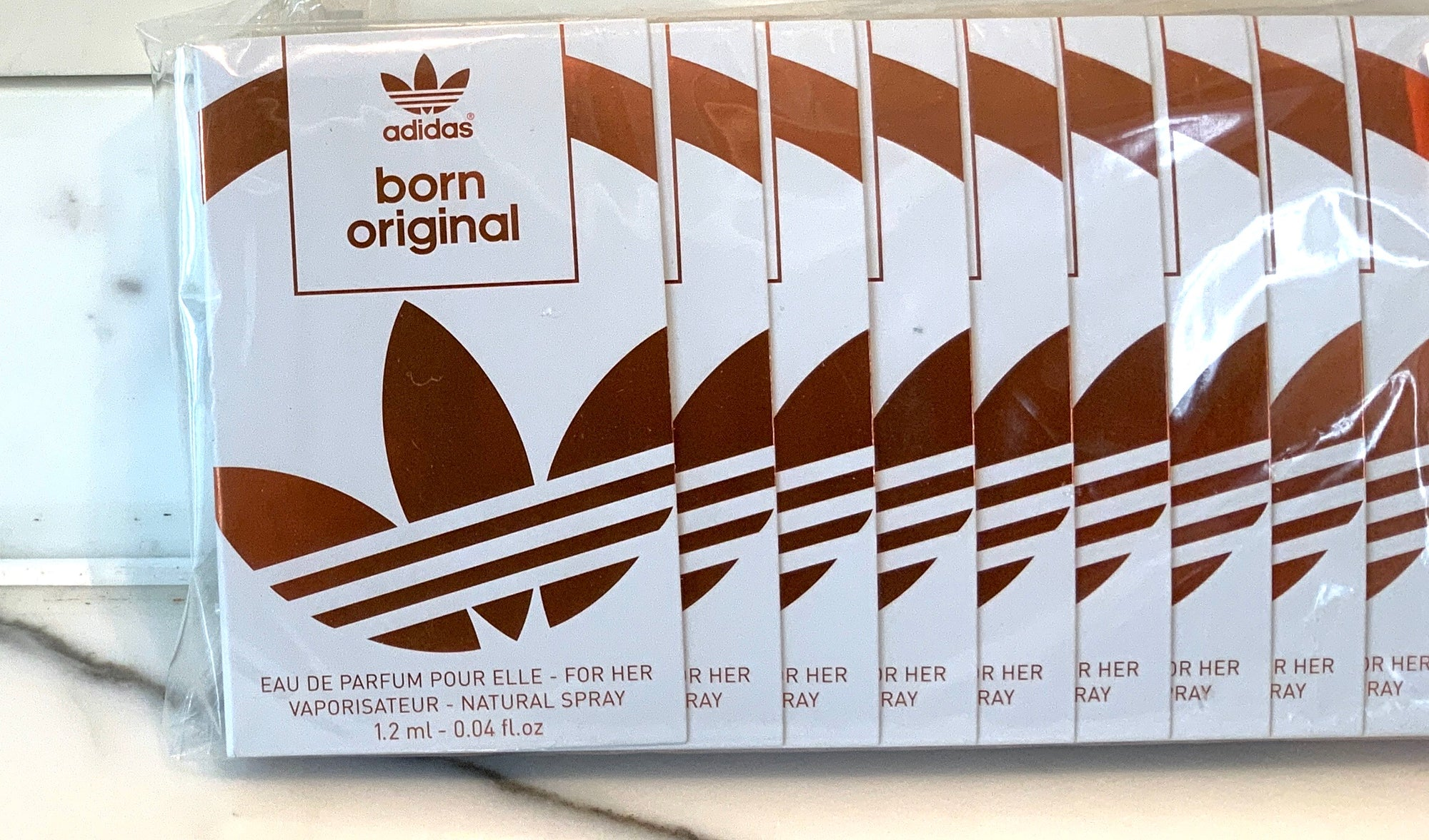 Adidas Born Original EDP 1.2ml for Her 12 PACK Vials