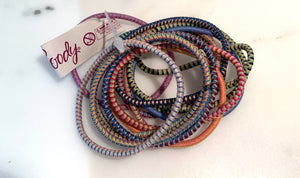 Goody 15 pc No-Metal Hair Ties in Assorted Colours