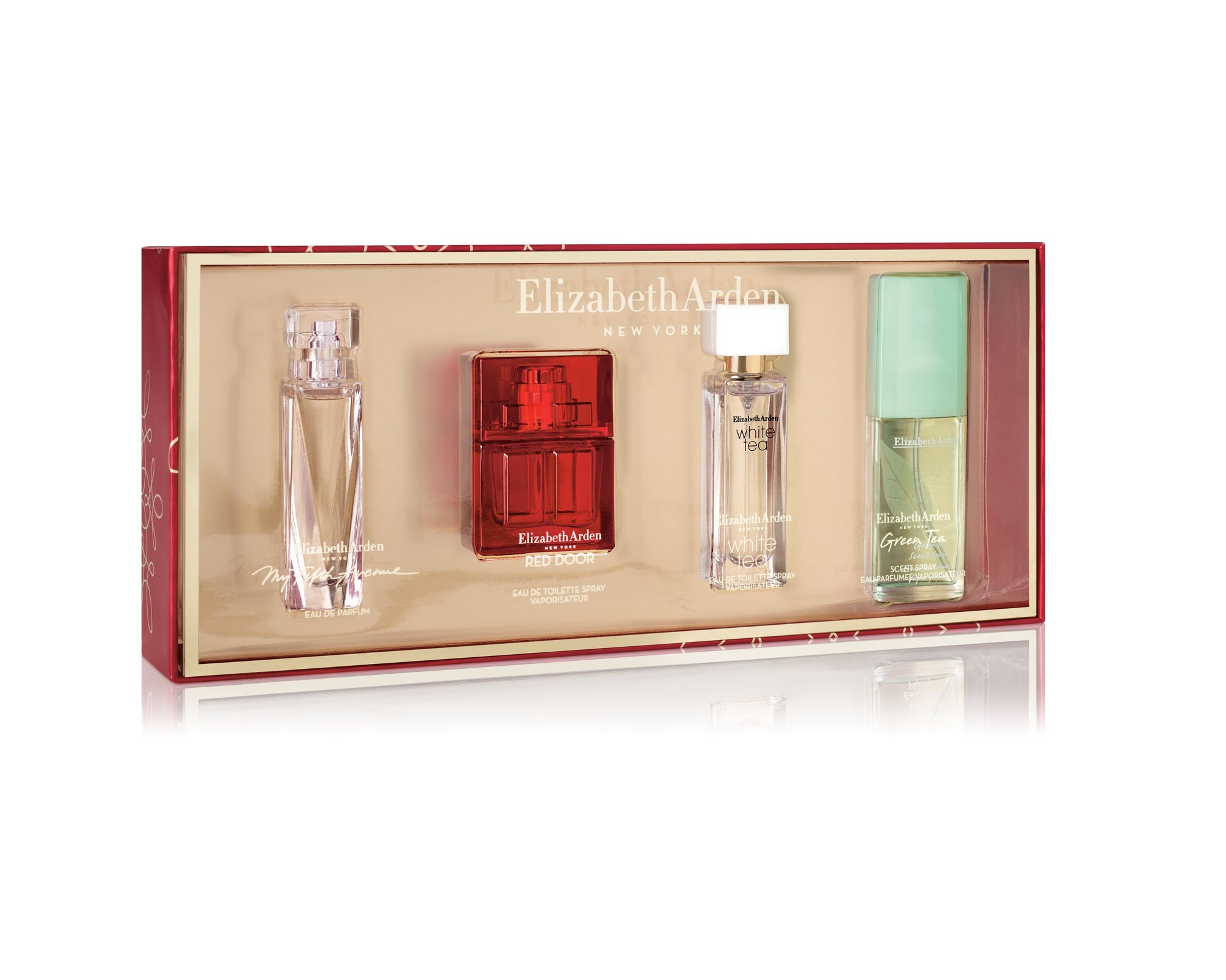 Elizabeth Arden New York Cheer Mini Gift Set 4pc