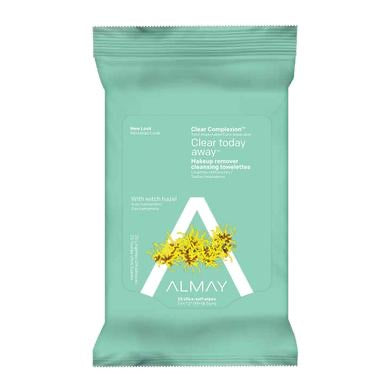 Almay Clear Complexion Clear Away Today Makeup Remover 25 Wipes