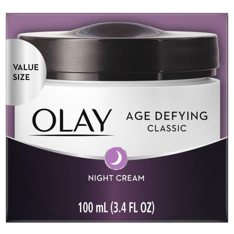 Olay Age Defying Classic Night Cream Value Size 100ml