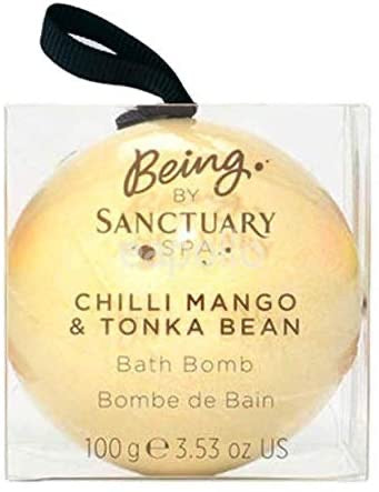 Being by Sanctuary Spa Chili Mango and Tonka Bean Bath bomb