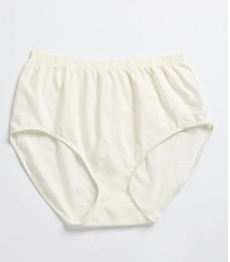 Jockey Brief  Underwear for Women size 8  (Ivory Pearl colour)