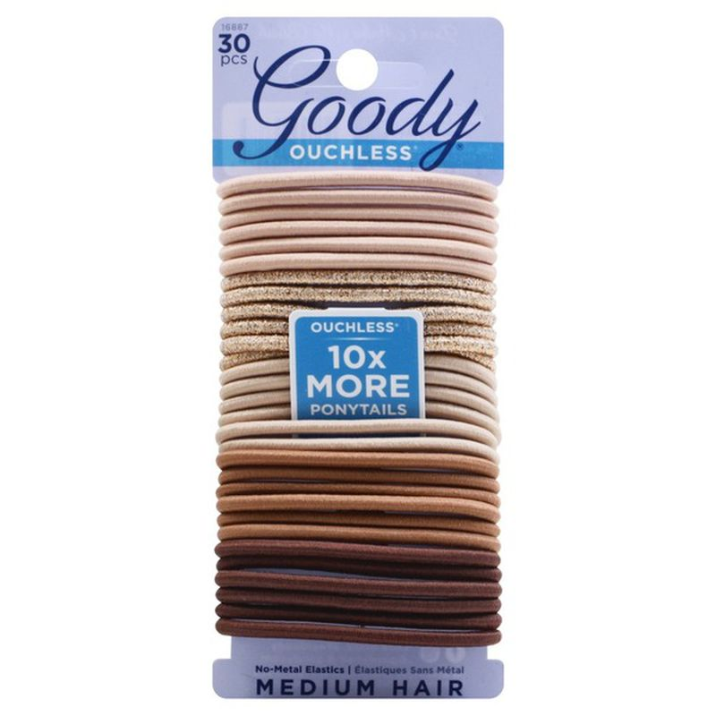 Goody 33pc Hair Ties (Don't make me blush)
