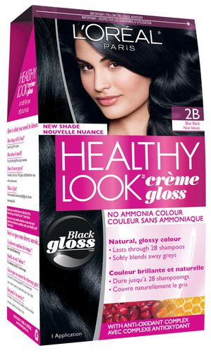 L'Oreal Healthy Look Creme Gloss, Blue Black 2B