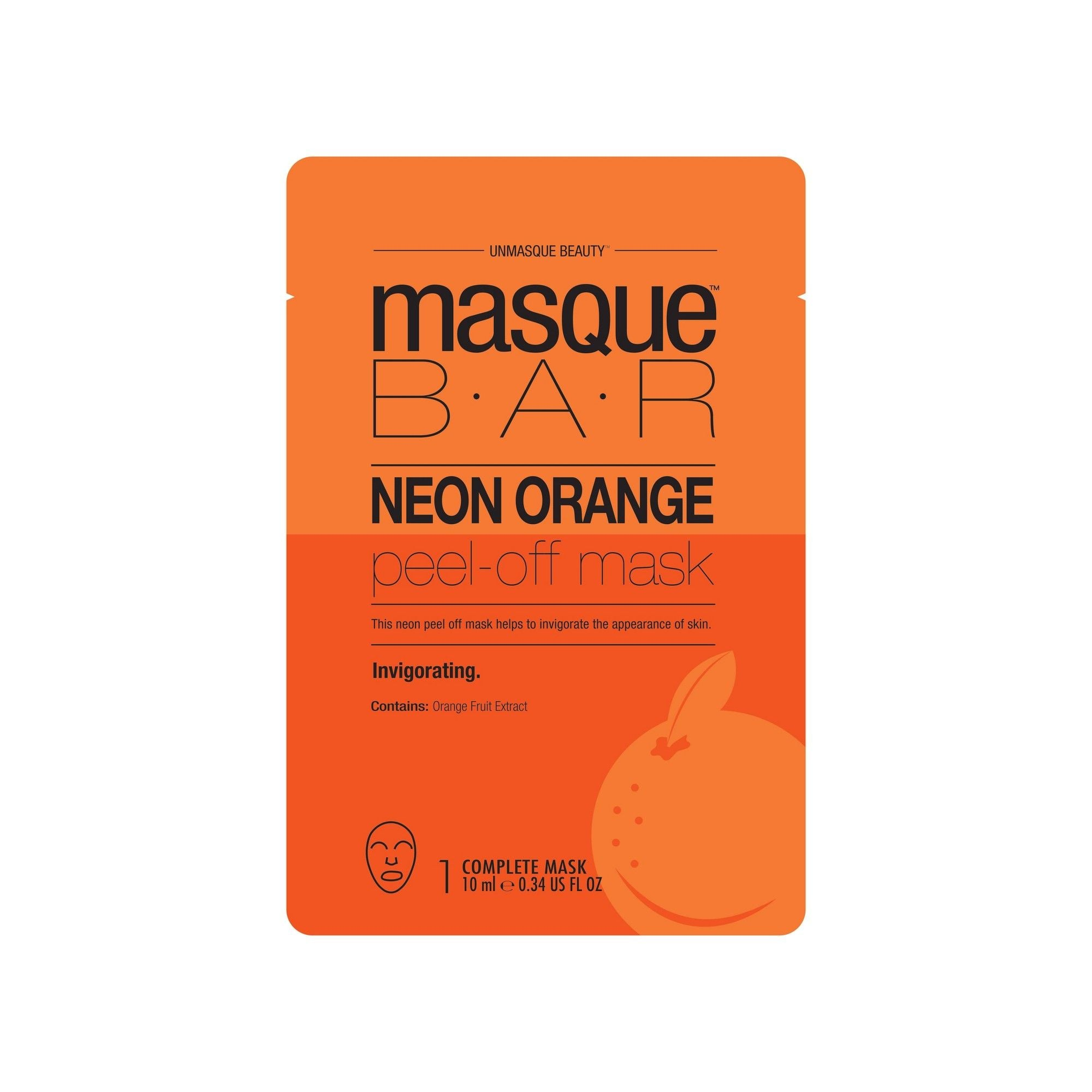 Masque Bar Neon Orange Peel-off Mask