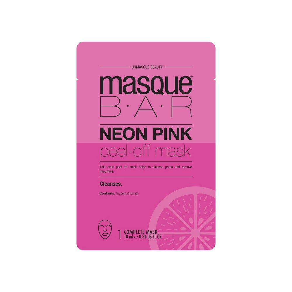Masque Bar Neon Pink Peel-off Mask
