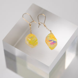 Art Opal Jewelry pierced earrings