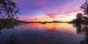 Lake Burley Griffin, Canberra, at sunrise