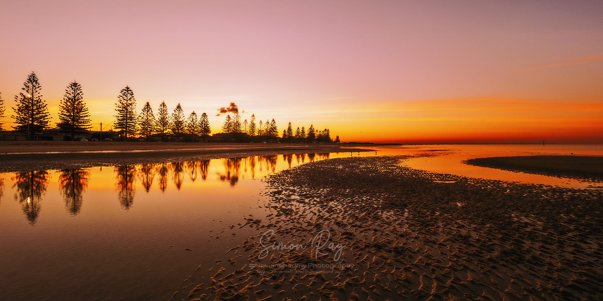 Sunrise over Altona Beach