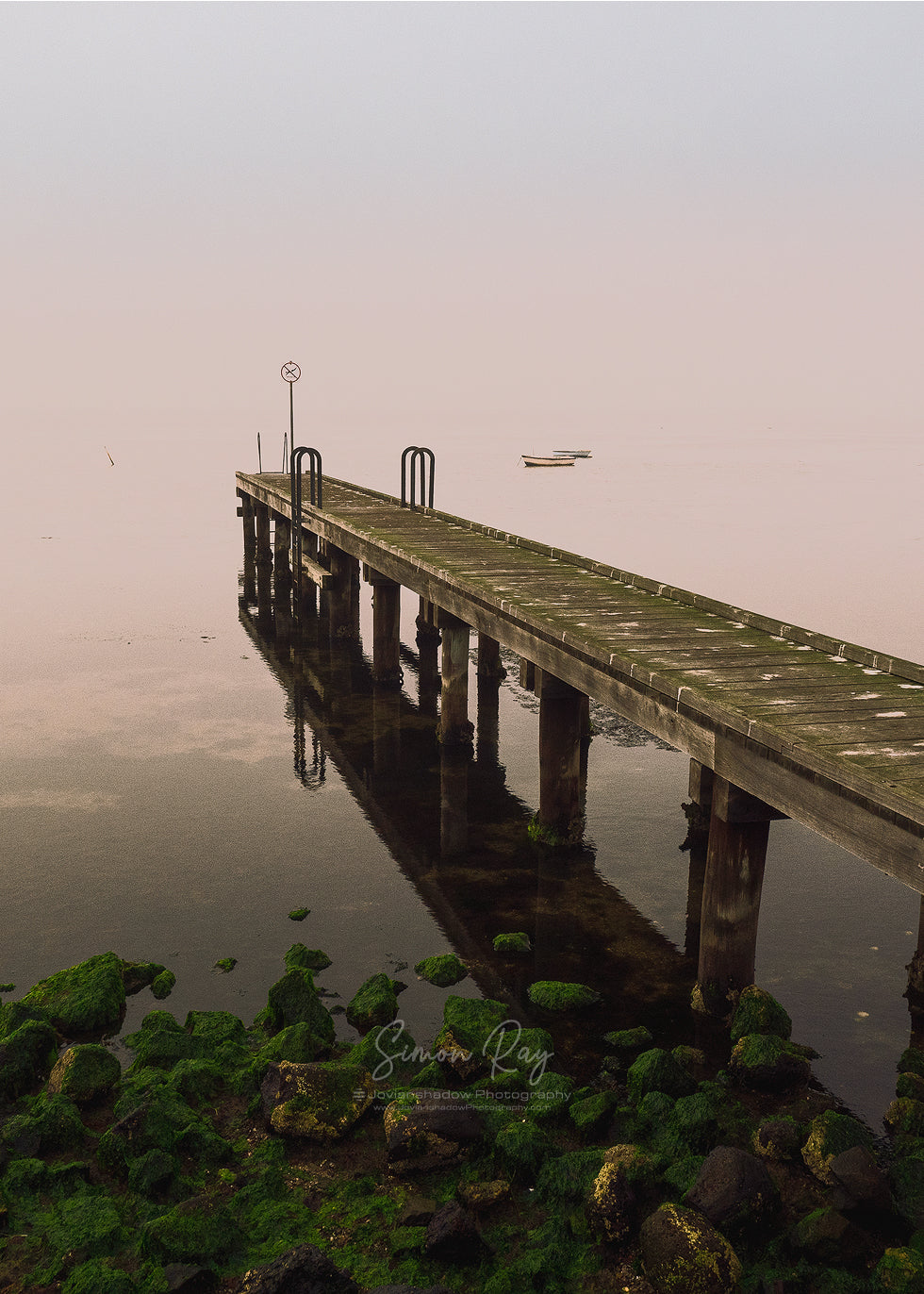 Foggy morning at Altona Jetty