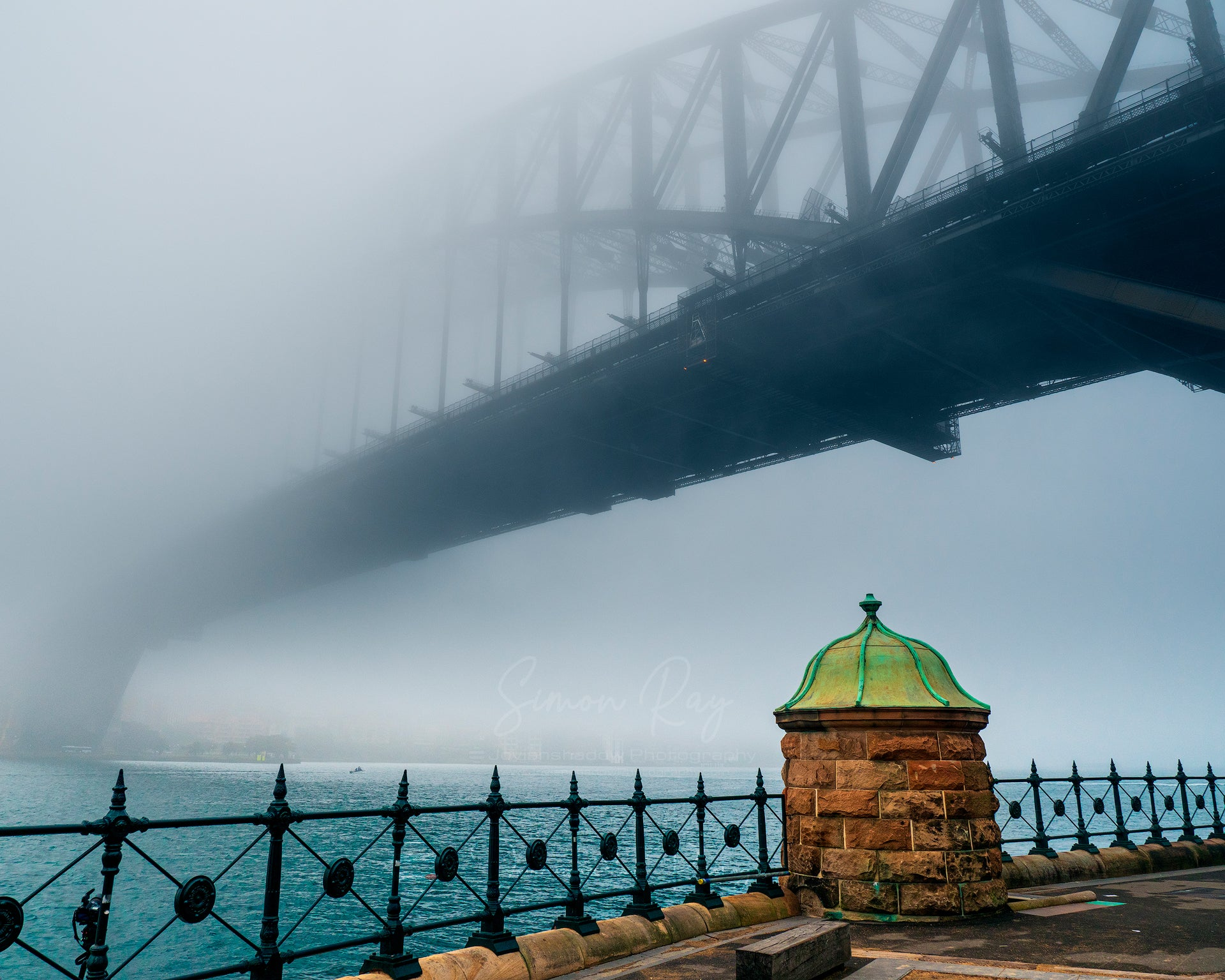 Foggy Harbour Bridge