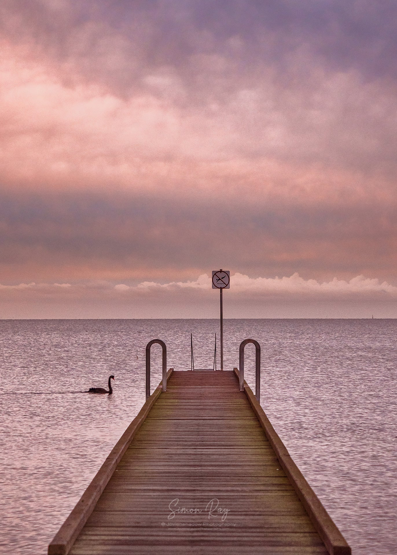 Pastel Sunrise at Altona Jetty