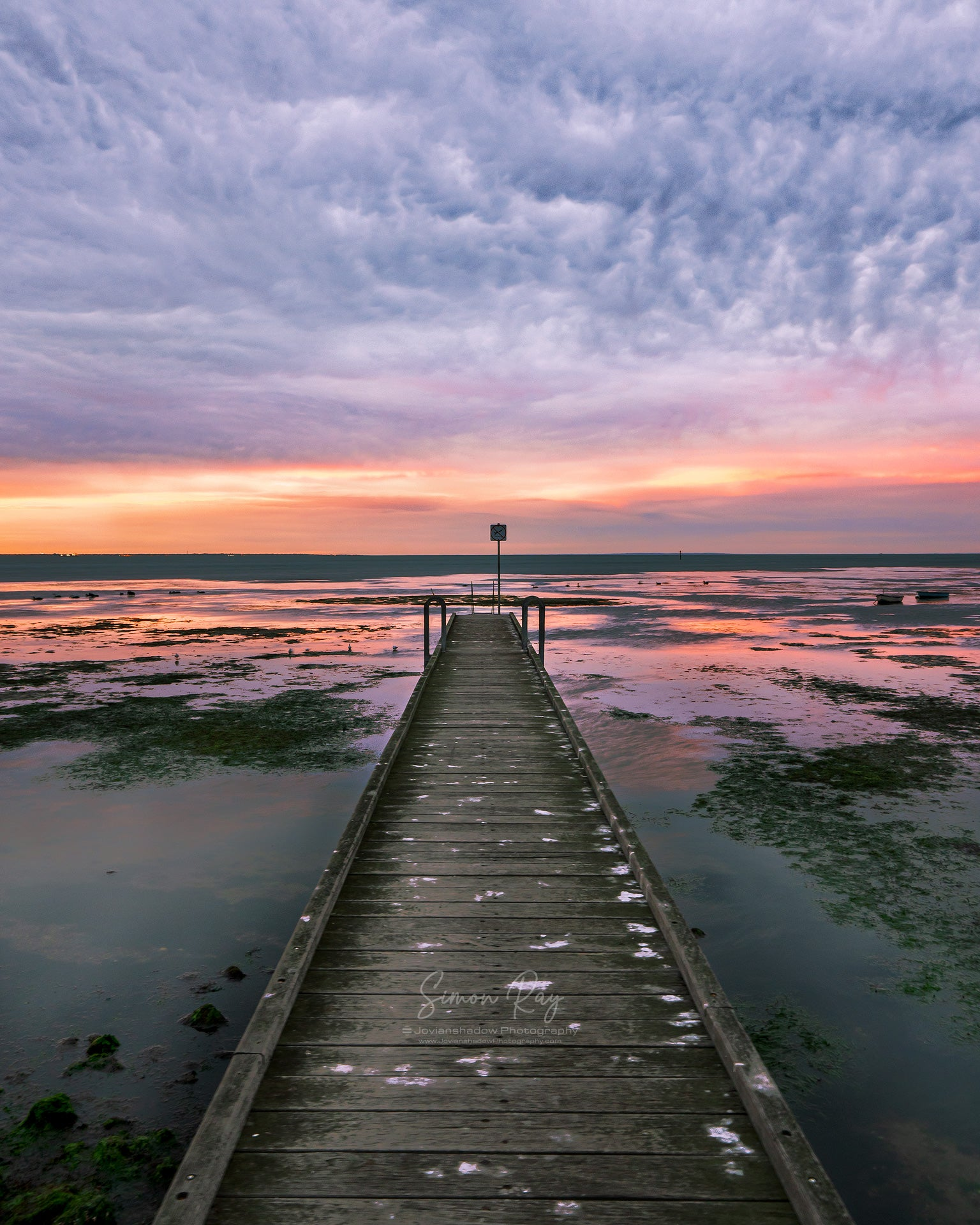 Moody Sunrise at Altona Jetty