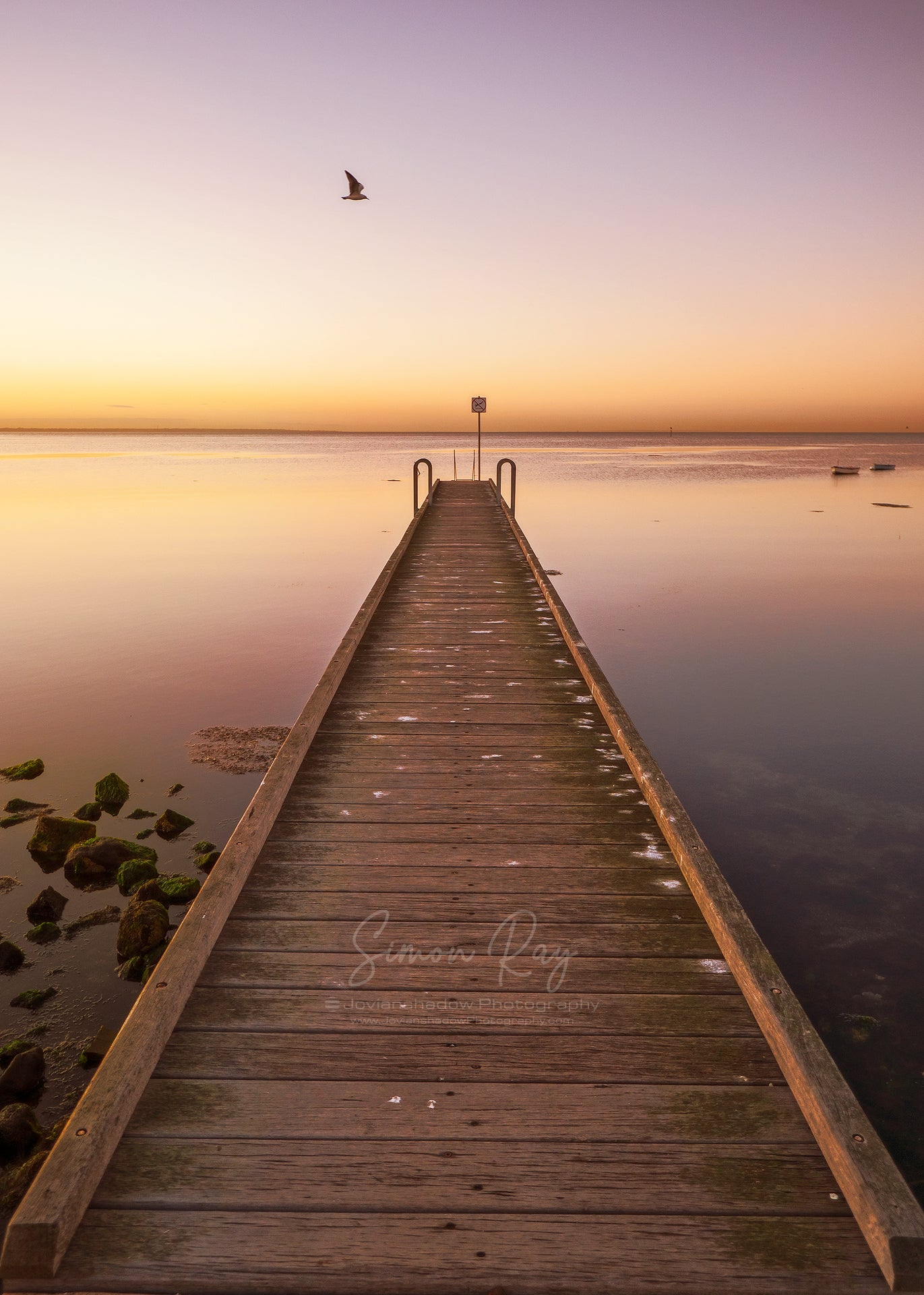 Sunrise at Altona Jetty