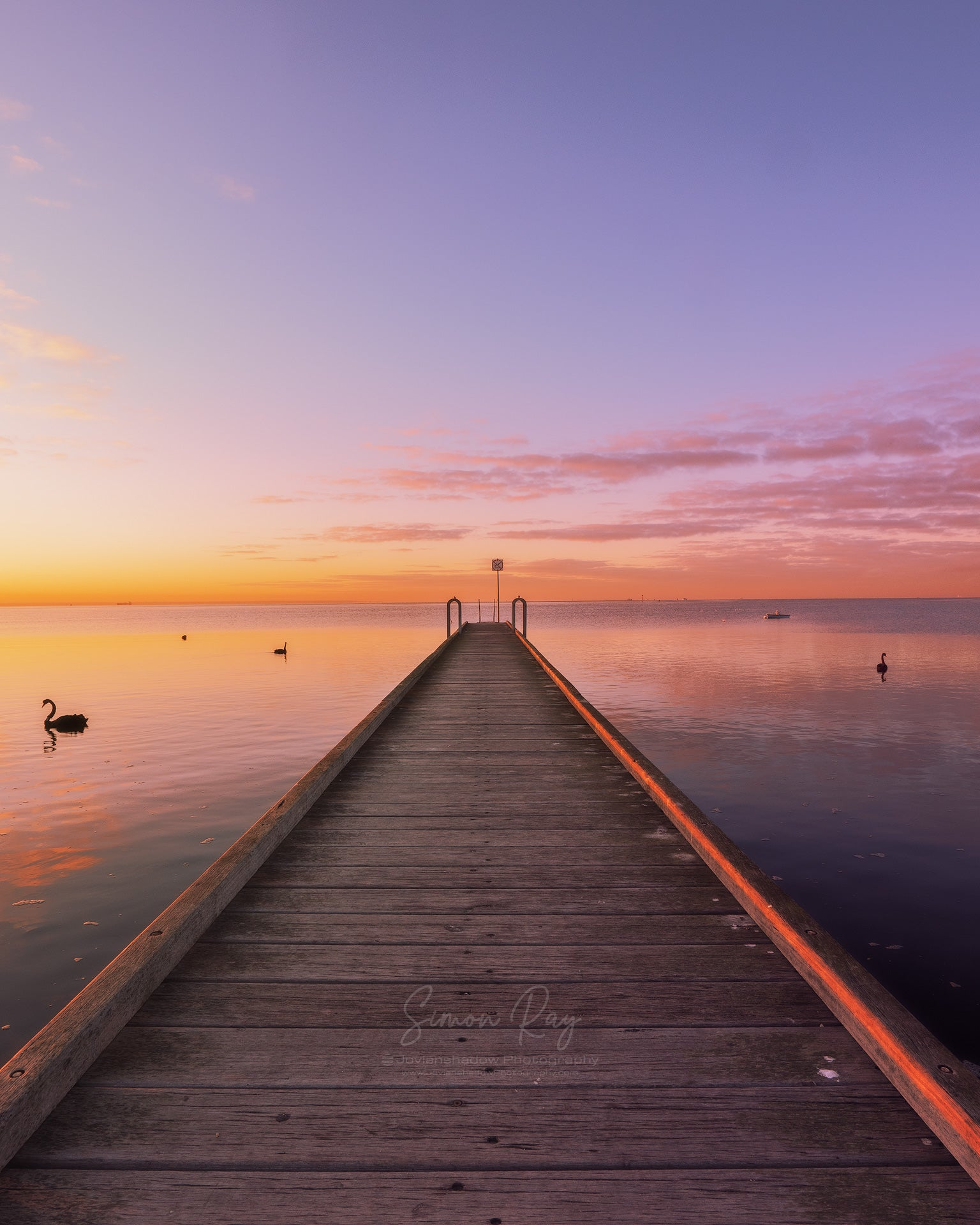 Golden Sunrise at Altona Jetty #2