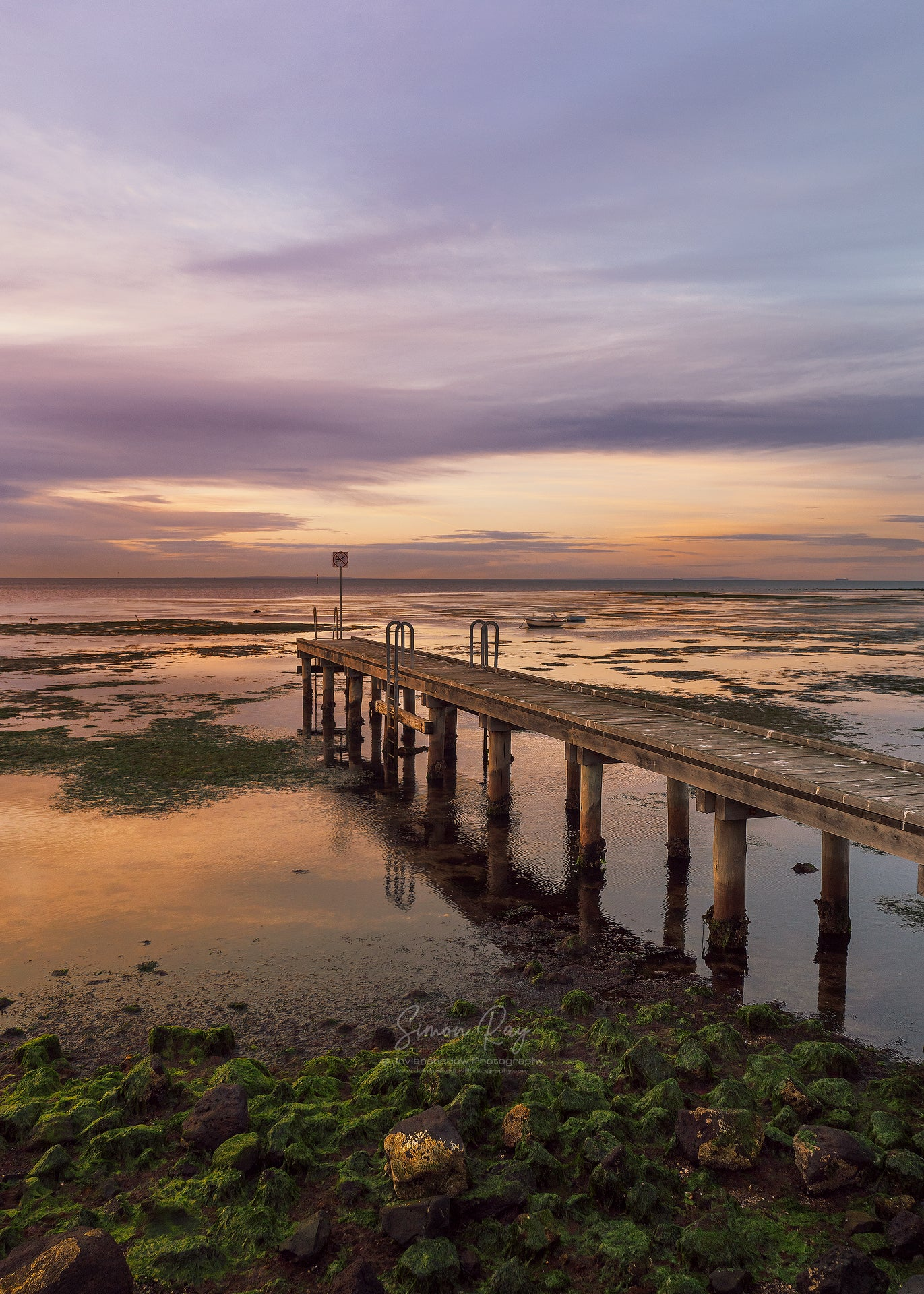 Golden Sunrise at Altona Jetty