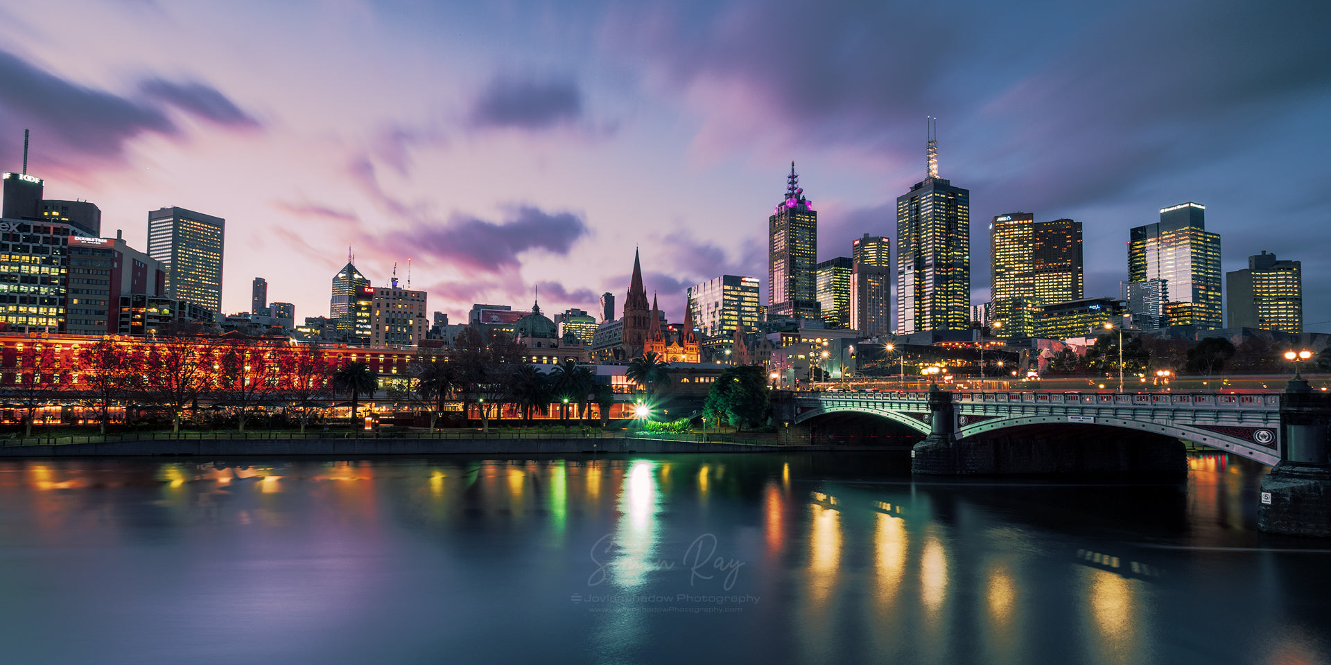Melbourne and Princes Bridge