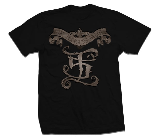 Inkslingers I.S. Black/Brown Tee Shirt