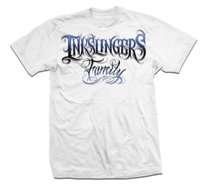 Inkslingers Family White Tee Shirt
