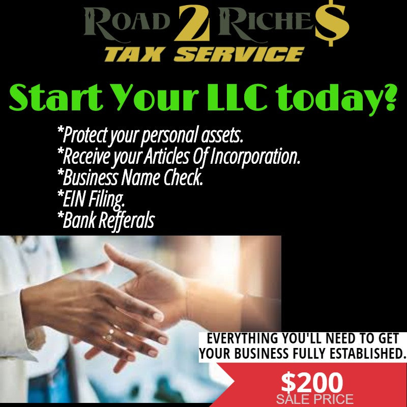START YOUR LLC TODAY.