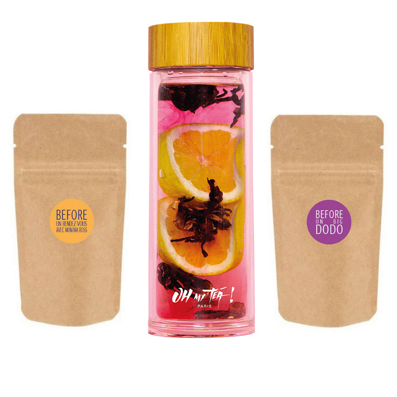 KIT RELAX DUO + THERMOS - Oh My Tea !