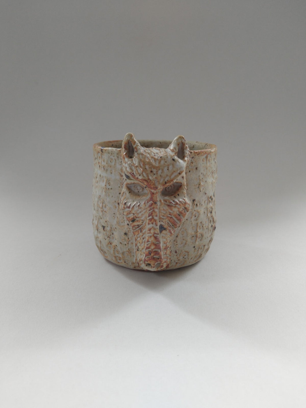 Sin Tax Zombie Dog Cup with Ivory Glaze