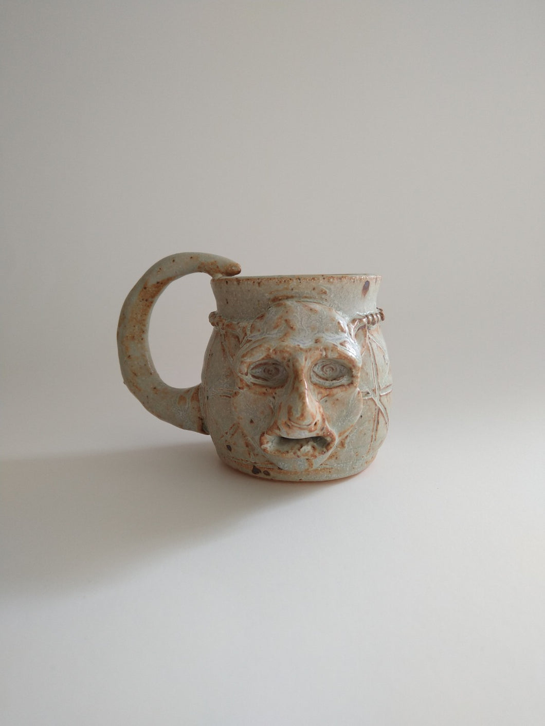 Rat Arsed Mug with Rotten Milk Glaze