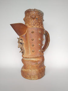 Massive Fuck Off Woodfired Jug with Golden Ghosts & Spit Nipple Spikes