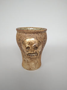 Woodfired Unhappy Herman Cup with Gold & Ash